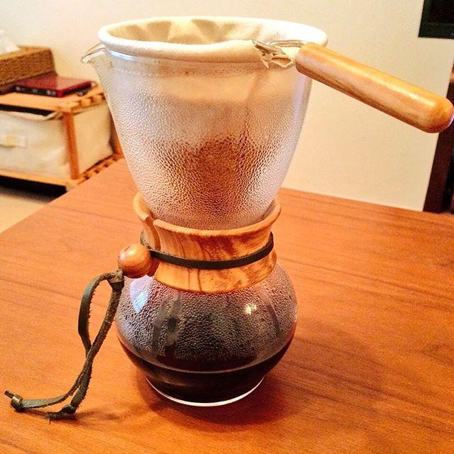 法蘭絨濾布手沖咖啡 Nel Drip